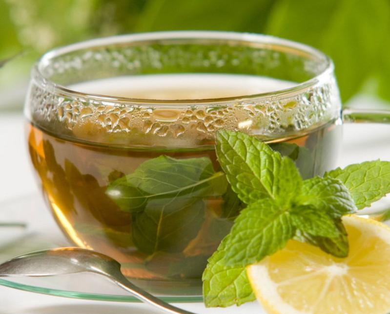 Чай із м'ятою збірний