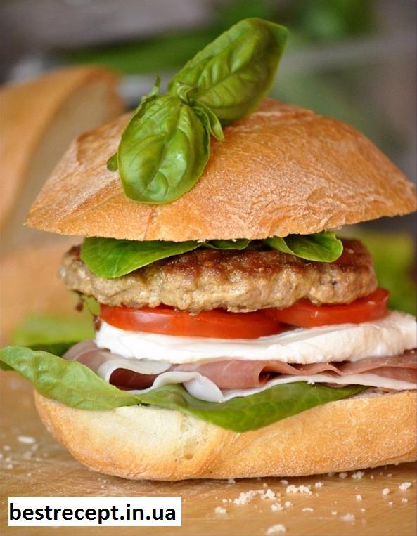Італійський гамбургер