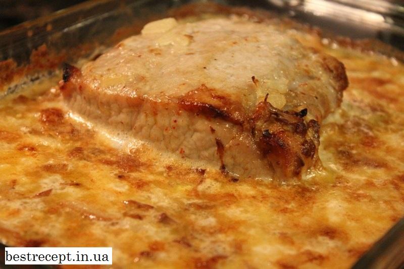 Свинина в пікантному соусі