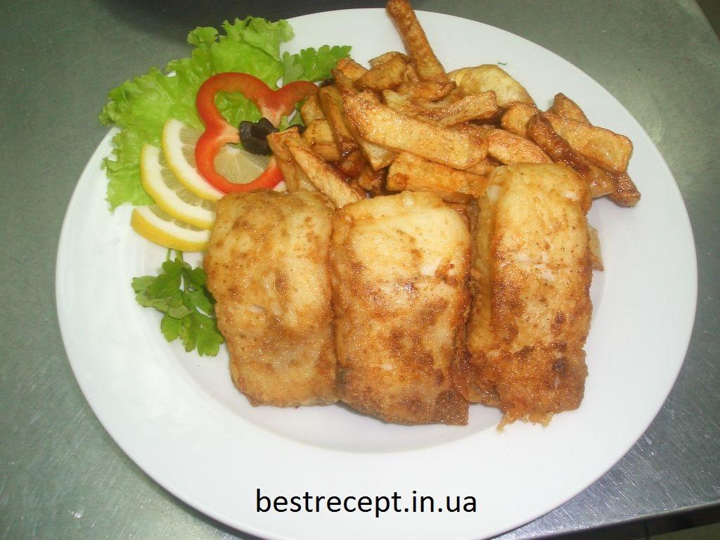 Риба смажена з катоплею