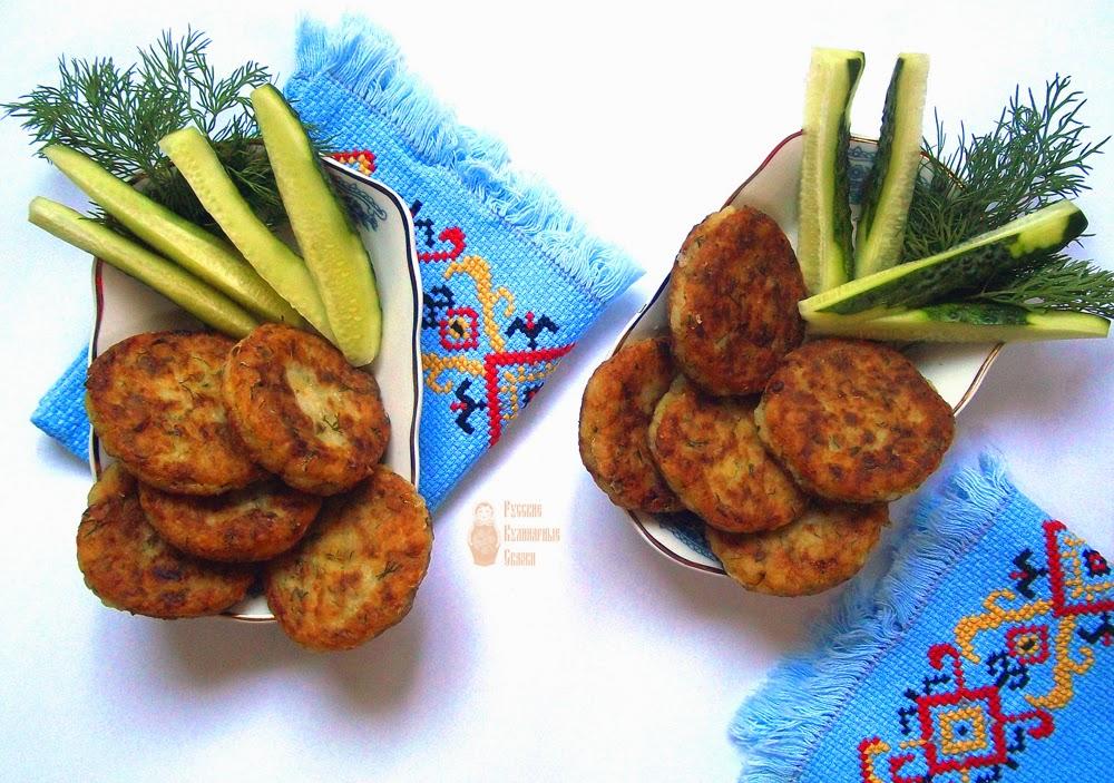 Котлети з картоплі й рису