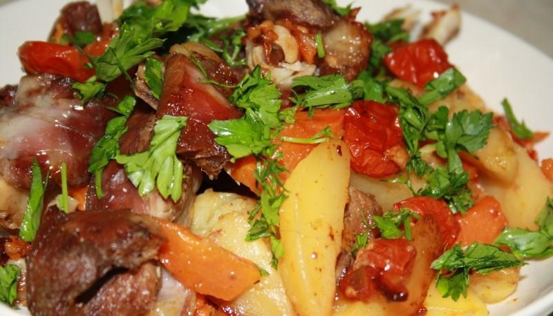 Печеня з баранини