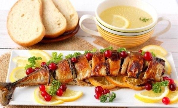 Закуска зі скумбрії