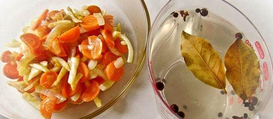 Маринад білий з овочами