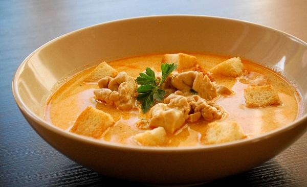 М'ясний суп з мозками