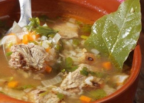 Суп із баранини