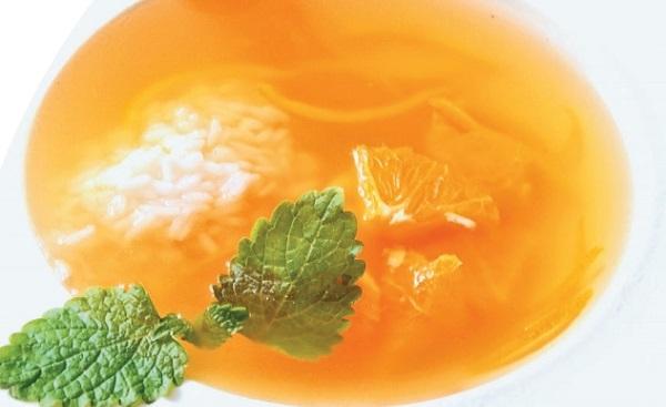 Суп із цитрусових