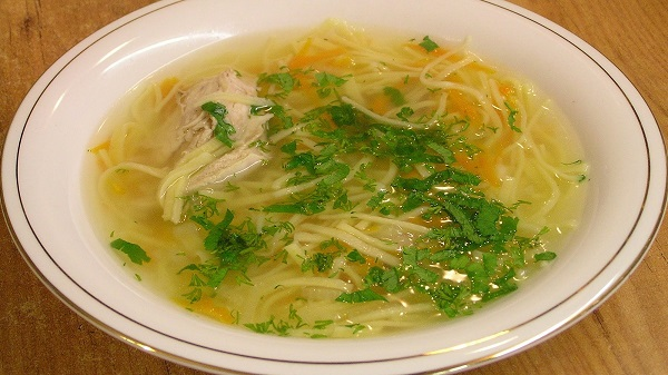 Суп-локшина домашня