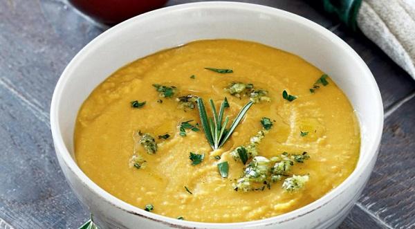 Суп-пюре з гороху жовтого сушеного
