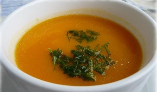 Суп-пюре з груші земляної