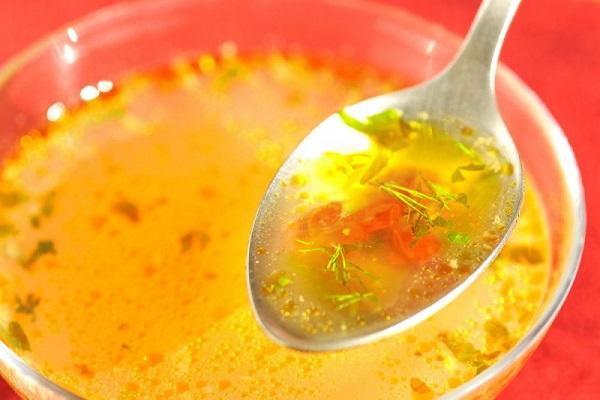 Світлий прозорий суп (основний рецепт)