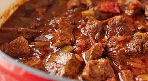 Печеня із маринованої телятини