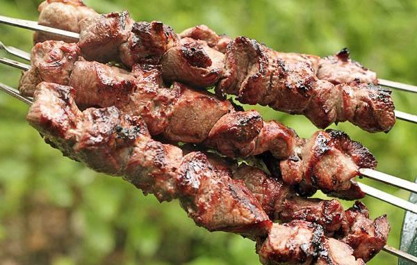 шашлик із свинини