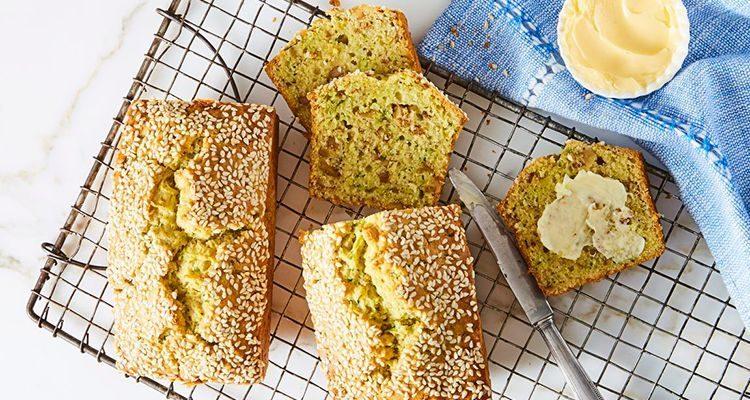 Хліб з кабачками фото