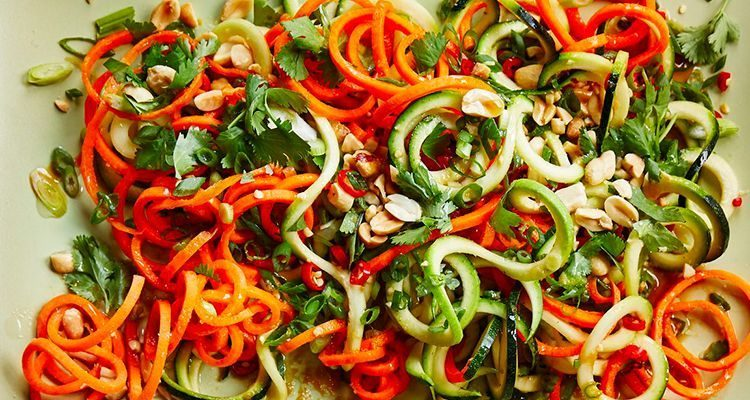 Фото салату з кабачків та моркви